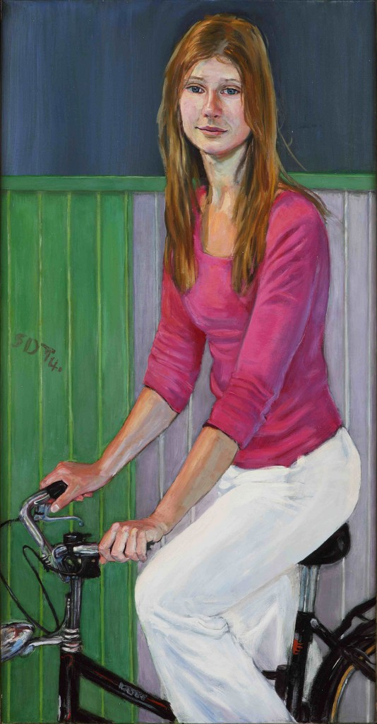 Bicycle-girl