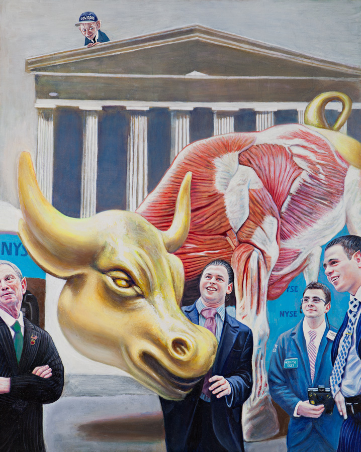 The Lesson of Anatomy The Magical World of Wall Street